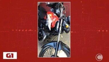 Polícia descobre desmanche de motocicletas em casa da Zona Norte de Teresina - Polícia descobre desmanche de motocicletas em casa da Zona Norte de Teresina