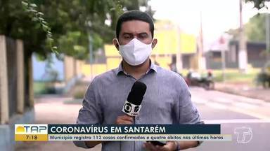 Confira os números em relação a Covid-19 em Santarém e em todo o Pará - Dados são divulgados pela Semsa e Sespa.
