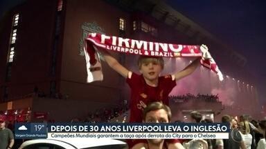 Fim do tabu! Liverpool é campeão inglês depois de 30 anos - Fim do tabu! Liverpool é campeão inglês depois de 30 anos