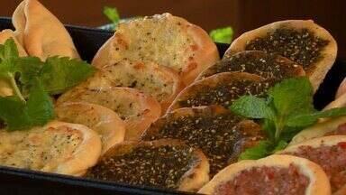 """""""Hora do Rancho"""" ensina a preparar esfirras abertas e fechadas - Com massa versátil, diversos recheios podem acrescentar sabor à receita!"""