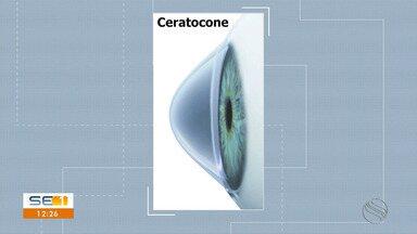 Junho Violeta chama a atenção para doença dos olhos chamada ceratocone - Junho Violeta chama a atenção para doença dos olhos chamada ceratocone.