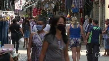 No Rio, salões e lojas de rua já podem funcionar sob novas regras - Na cidade do Rio, a semana começa com comércio de rua e salões de beleza liberados para abrir. É mais uma etapa da retomada das atividades, antecipada pela prefeitura.