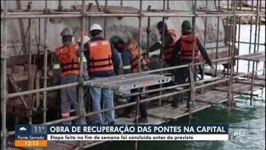 Obra de recuperação das pontes em Florianópolis é concluída antes do previsto - Obra de recuperação das pontes em Florianópolis é concluída antes do previsto