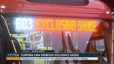 Curitiba cria expresso exclusivo saúde - Ônibus é para profissionais que trabalham em hospitais e clínicas