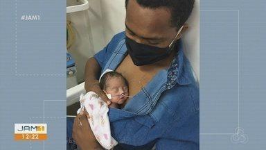Amigos criam vaquinha virtual para ajudar menina órfã de mãe, vítima da Covid-19 - Saiba como ajudar.