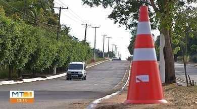 Avenida ficará interditada por 45 dias em Rondonópolis - Avenida ficará interditada por 45 dias em Rondonópolis