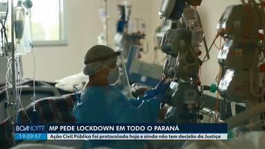 Ministério Público pede lockdown em todo o Paraná - Ação Civil Pública foi protocolada nesta segunda-feira (29).