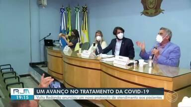 Prefeitura de Volta Redonda firma parceria com a UFRJ para atender pacientes de Covid-19 - Anúncio foi feito na tarde desta segunda-feira, durante uma coletiva de imprensa na sede da prefeitura.