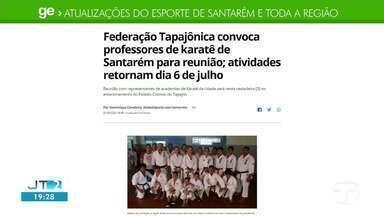 Confira as principais notícias do esporte no GE - Acesse a reportagem completa no ge.com.br/tvtapajos