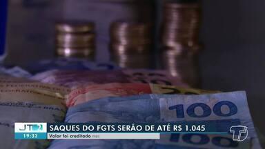 Saques do FGTS começam a ser liberados pela Caixa Econômica Federal - Valor pode chegar até R$ 1.045.
