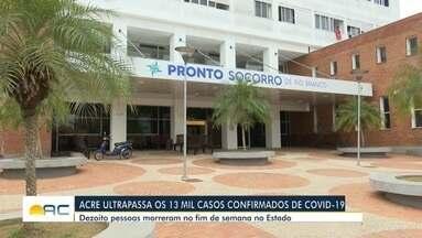 Mais 145 casos de coronavírus são confirmados no Acre em 24 horas - Mais 145 casos de coronavírus são confirmados no Acre em 24 horas