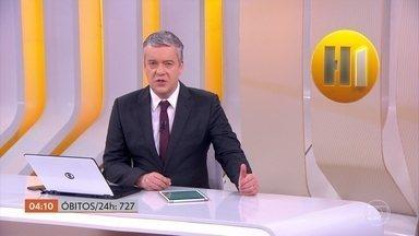 Brasil registra 727 óbitos por Covid-19 em 24 horas, diz consórcio de veículos de imprensa - O número total de mortes subiu para 58.385 mil.