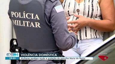 Mulheres do ES recebem ajuda e proteção da patrulha Maria da Penha - Veja na reportagem.