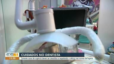Saiba como se prevenir de Covid-19 caso precise ir no dentista, no ES - Somente casos de urgência devem ser atendidos e respeitando o reforço nas normas de higiene.