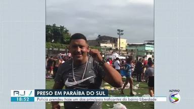 Policia prende um dos principais traficantes de Paraíba do Sul - Lucão, como é conhecido, foi encontrado após seis meses de investigação. Prisão aconteceu durante operação conjunta entre as polícias Civil e Militar.