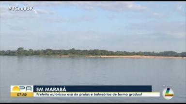 Em Marabá, prefeitura libera a reabertura de praias e balneários - Praias vão funcionar a partir do dia 12.