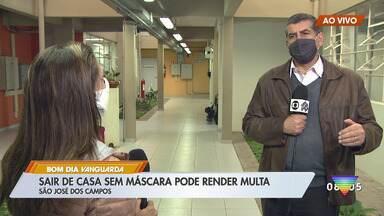 Multa para quem não usar máscaras começa a valer nesta quinta-feira (2) - São José dos Campos irá investir em campanhas educativas e não deve multar por enquanto