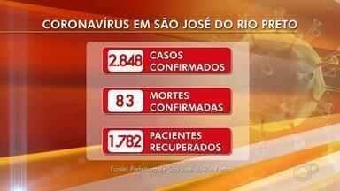 Confira a situação da ocupação dos leitos nos hospitais de Rio Preto - Confira a situação da ocupação dos leitos nos hospitais de Rio Preto nesta quinta-feira (2).