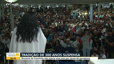 Eventos tradicionais são cancelados no interior por causa da pandemia - Saiba mais detalhes sobre o Bando Anunciador, de Feira de Santana, e a Romaria do Cantinho, de Barreiras.