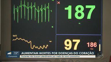 Mortes por doenças do coração aumentam em 70% durante a pandemia no estado de São Paulo - O índice pode estar relacionado ao medo dos pacientes em buscar atendimento por conta do novo coranavírus.