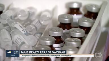 Campanha de vacinação contra sarampo é prorrogada - Minas está com cobertura de apenas 11,64%.