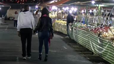 Feiras noturnas voltam a funcionar nesta quarta-feira em Suzano - Depois de 3 meses de paralisação, as feiras voltaram a funcionar com diversas obrigações sanitárias.