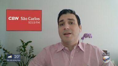 Prefeitura de São Carlos divulga perfil das pessoas contaminadas com coronavírus - O apresentador Flávio Mesquita dá mais detalhes.