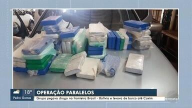 PF faz operação contra quadrilha que levava drogas de MS para o Nordeste - Grupo traficava por rios e rodovias em três Estados