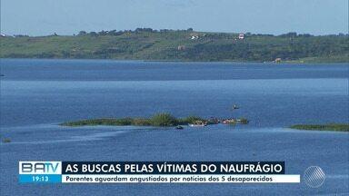 Tragédia: Vítimas de naufrágio em Cabaceiras do Paraguaçu seguem desaparecidas - Caso ocorreu na tarde de quarta-feira (1). Entre as vítimas, estão quatro crianças.