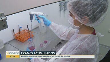 Sistema de testagem para Covid-19 está com exames parados em Ribeirão Preto, SP - No total, são mais de quatro mil testes em análise.