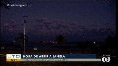 É hora de abrir a janela: Veja o amanhecer do dia em Palmas - É hora de abrir a janela: Veja o amanhecer do dia em Palmas