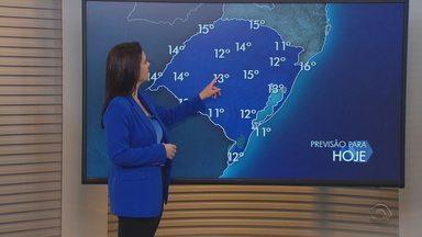 Temperaturas máximas não passam dos 15ºC nesta sexta-feira no RS - Tempo segue firme e com sol.