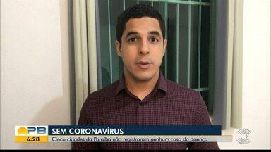 Cinco cidades da Paraíba não registraram nenhum caso da doença - Confira os detalhes com o repórter Felipe Valentim.