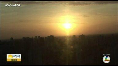 Confira a previsão do tempo em Belém e no interior do Pará nesta sexta-feira, 3 - Previsão do tempo.