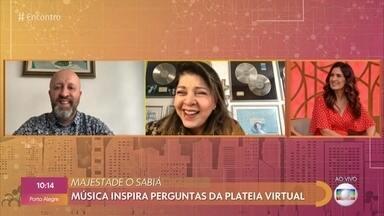 Músicas de Roberta Miranda inspiram dúvidas da plateia virtual - Confira o 'Tô Querendo Saber Musical' com dicas de Fabrício Carpinejar