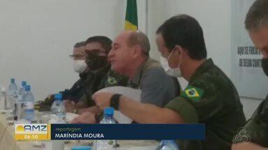 Ministro da Defesa visita RO para falar sobre a operação Verde Brasil 2 - Operação em Rondônia é comandada pelo exército.