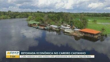Rede hoteleira de Careiro Castanho se prepara para retomada econômica - Setor turístico volta gradualmente na próxima segunda-feira.