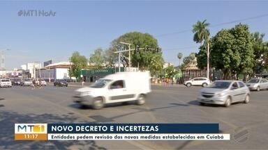 Empresários pedem revisão do decreto municipal de Cuiabá sobre Covid-19 - Empresários pedem revisão do decreto municipal de Cuiabá sobre Covid-19.