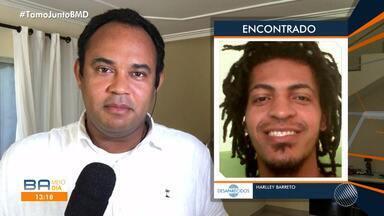 Jovem desaparecido em Salvador é encontrado pela família após reportagem do BMD - Confira.