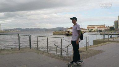 Skate E Diversão No Rio De Janeiro - Luan vai para o Rio de Janeiro com seus amigos Cezar Gordo e Lucas Rabelo, lá eles encontram o fotógrafo Pablo Vaz e o Filmmaker João Dutra, e vão fazer uma sessão na Praça Mauá.
