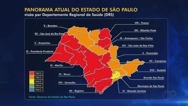 Confira a situação do coronavírus na região noroeste paulista neste sábado - Confira a situação do coronavírus na região noroeste paulista neste sábado (4). Rio Preto está na fase laranja e Araçatuba, na vermelha.