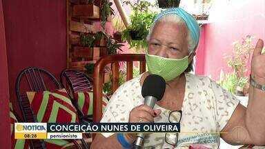 Em Montes Claros, projeto ajuda idosos a recuperar a autoestima durante a pandemia - A iniciativa foi implantada na Unidade de Saúde do Bairro Santos Reis.