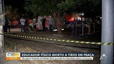 Educador físico é morto a tiros em praça de Fortaleza - Saiba mais no g1.com.br/ce