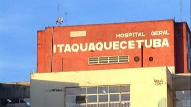 Hospital Santa Marcelina, em Itaquaquecetuba, continua com alta taxa de ocupação - Nesta quinta-feira (9) completa uma semana que o Centro de Contingência do Coronavírus do Estado recomendou que a cidade voltasse à fase vermelha do Plano São Paulo.