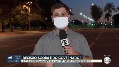 Afinal, o que está valendo? - Decretos e decisões judiciais deixam moradores do DF com dúvida sobre o que pode ou não funcionar nesta pandemia.
