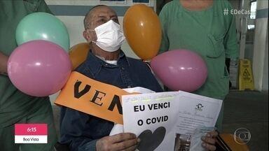 Covid-19: após 54 dias, homem se recupera e volta pra casa - Carlos Frederico foi o primeiro paciente da UTI do Hospital do Servidor Público de São Paulo. Ele ficou 54 dias e 30 deles em coma.