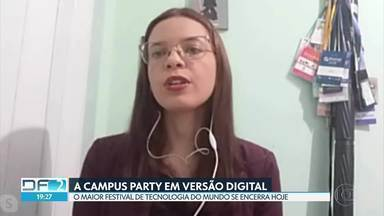 Campus Party: o maior festival de tecnologia do mundo em versão digital - Eram esperadas 170 mil pessoas no festival, que seria realizado no estádio Mané Garrincha. Mas a pandemia redirecionou os planos. E depois da nova experiência, participantes dizem que a edição digital da Campus Party não deixou a desejar.