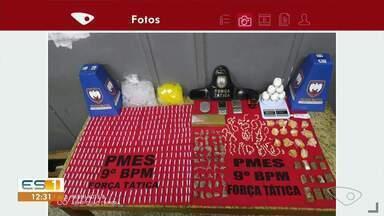 Polícia apreende drogas em casa no bairro Monte Belo, em Cachoeiro - undefined