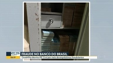 Polícia civil desmonta quadrilha que desviou R$ 13 milhões do Banco do Brasil - A operação foi realizada em cinco cidades do Estado, sendo que quatro delas ficam na região de Presidente Prudente.