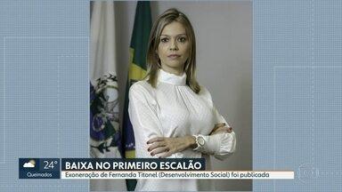 Secretária de Desenvolvimento Social pede demissão - Fernanda Titonel é a 9ª secretária a sair do governo desde o início da crise política enfrentada pelo governo Wilon Witzel.